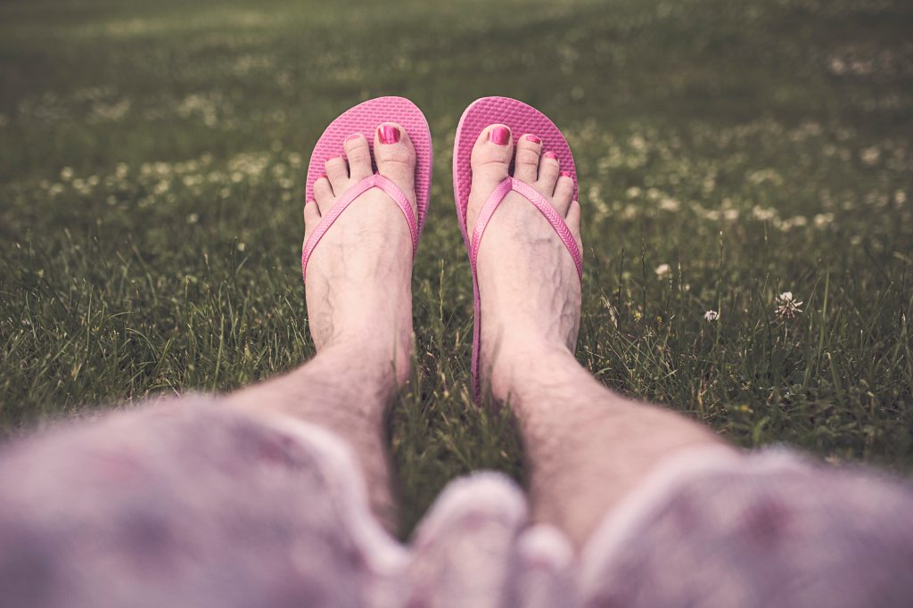 Hairy Legs, Painted Toes